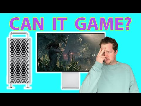 Can You Game on a $6,000 Mac Pro??