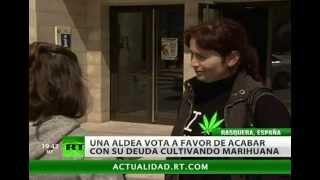 Un pueblo español dice 'sí' a plantar marihuana para salir de la crisis