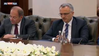 بالفيديو  رئيس الوزراء التركي يتهم واشنطن بالتواطؤ مع كولن