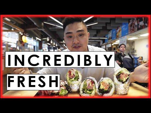 AMAZING Sushi Burritos In Charlotte | QC Eats