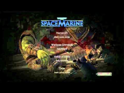 Space Marine   Credits
