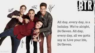 Скачать Big Time Rush 24 Seven Lyrics