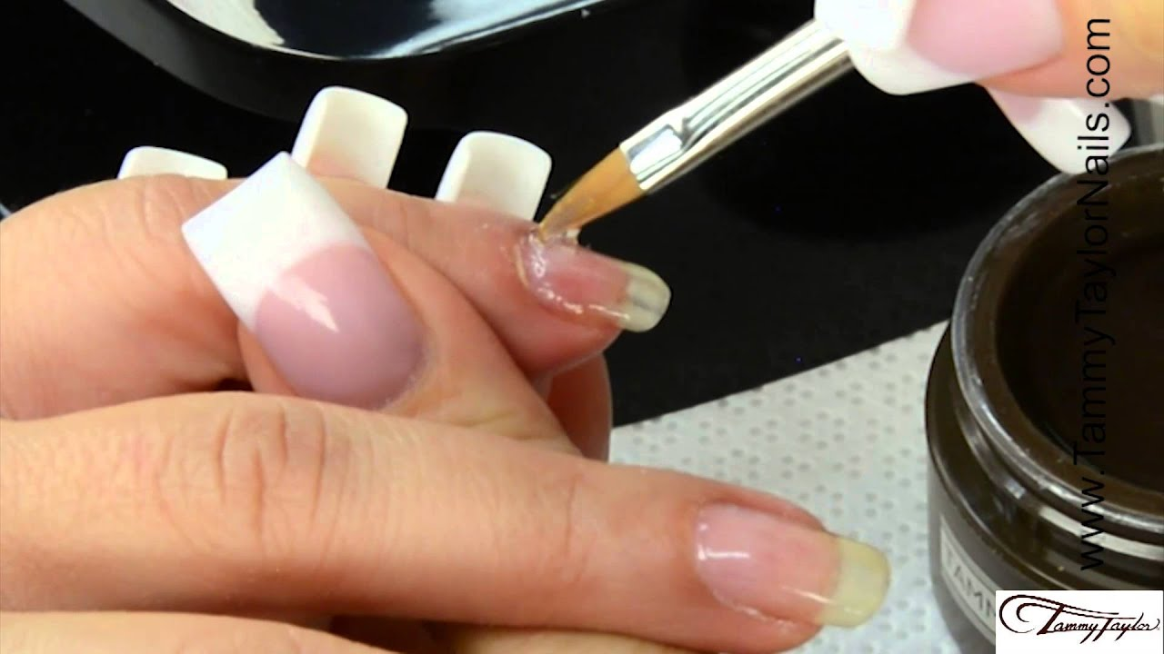 ♡ Tammy Taylor Gel Polish Removal and Application with Gel Fill-in ...