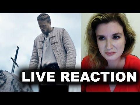 King Arthur Comic Con Trailer Reaction