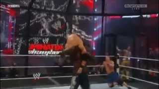 elimination chamber 2011 raw chamber match.flv