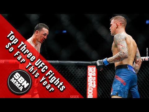 Top Three UFC Fights In 2019