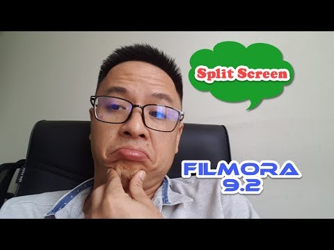 How to Create Split Screen Video - Filmora 9 Tutorial