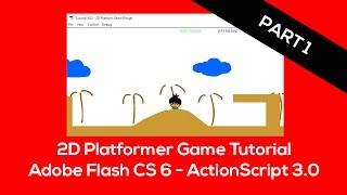 Adobe Flash ActionScript 3.0 - 2D Platform Game - Game Framework - Part 1