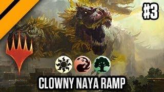 MTGA - Bo3 Constructed - Clowny Naya Ramp P3