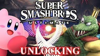 Smash Bros. Ultimate - How will we UNLOCK Characters?