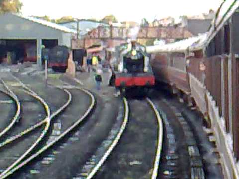 Severn Valley Railway. End of the Line at Bridge North Station.