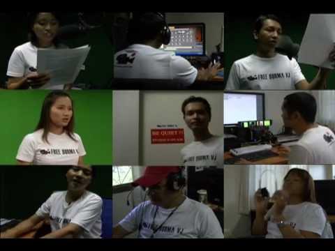 Free Burma VJ t-shirts on sale