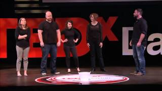 100 Percent Improvised | Black Box Improv Theater | TEDxDayton