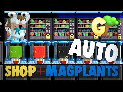 Growtopia - MAGPLANT + SHOP = OP! [EFFICIENT]