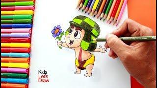 Cómo dibujar al CHAVO DEL OCHO BEBÉ (Chavo del 8 Animado) | How to draw El Chavo del Ocho