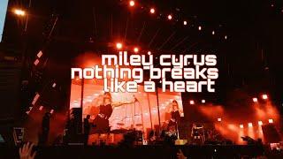 Miley Cyrus - Nothing Breaks Like A Heart Big Weekend 2019 Samantha Barlow