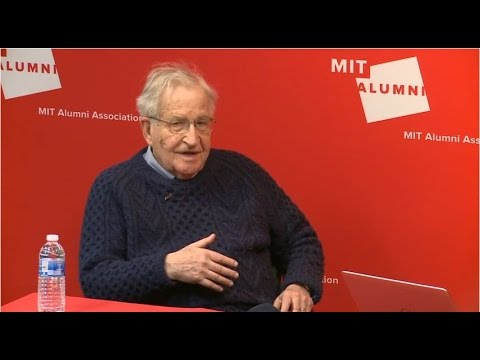 Faculty Forum Online: A Conversation with Noam Chomsky