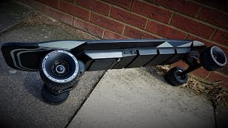 The NEW Electric skateboard by Slick Revolution. The Urban Kick.