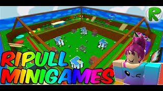 Roblox Let's Play! -Ep 1. Ripull Minigames