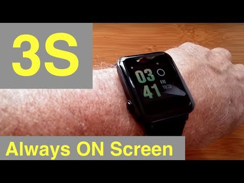 "WeLoop Hey 3S ""Pebble Like"" COLOR ""Always On"" screen Smartwatch: Unboxing & Review"