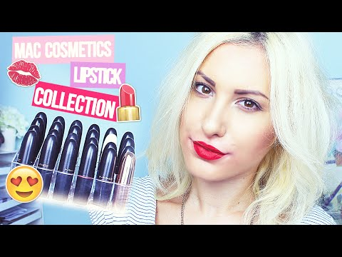 Mac Lipstick Collection Mini Reviews, Swatches ♡ Stefy Puglisevich