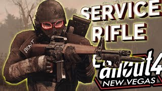 Fallout 4 SERVICE RIFLE (FROM FALLOUT NEW VEGAS) WITH All 6 Unique Weapon Locations (Xbox One/PC)