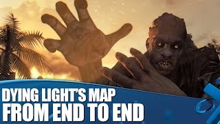 Dying Light gameplay: The map from end to end!