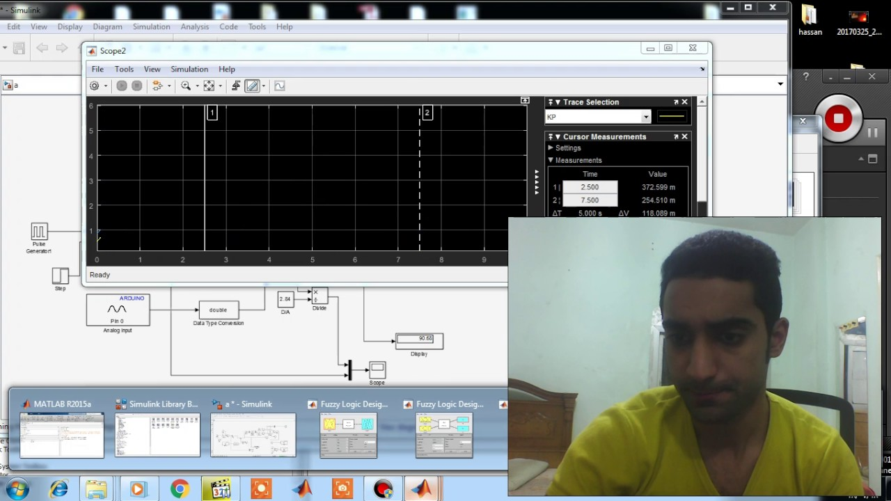 On Line Tuning Of Pi Controller Using Fuzzy Logic Youtube Control Tutorials For Matlab And Simulink Motor Speed