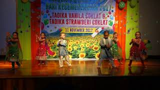 Tarian Bollywood - Tadika Strawberi Coklat 2017