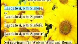 Laudato Si - mit  Text und Akkorden zum Mitsingen