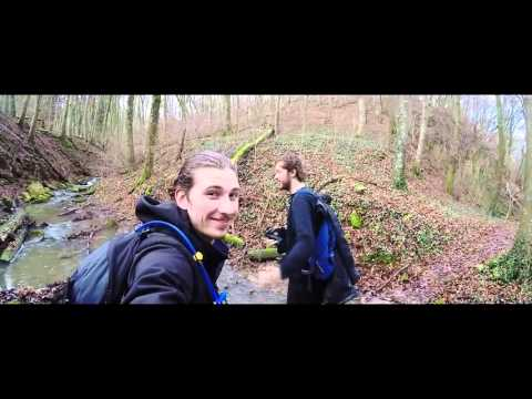 Luxembourg Hiking Mullerthal (GoPro) Winter 2016
