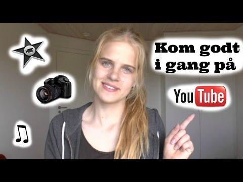 Kom Godt i Gang På YouTube | Tips til Redigering, Thumbnails og Musik uden Copyright | Camilla Beck