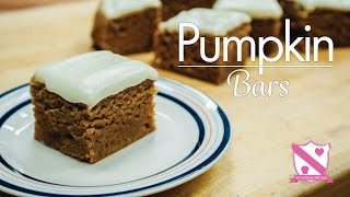 Pumpkin Bars - In The Kitchen With Kate