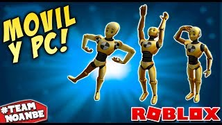 How to use NEW EMOTES (Emoticons) for FREE? Roblox in Spanish