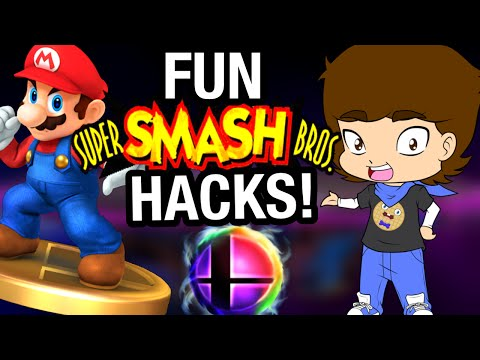 FUN Super Smash Bros. HACKS and Fan Games! - ConnerTheWaffle