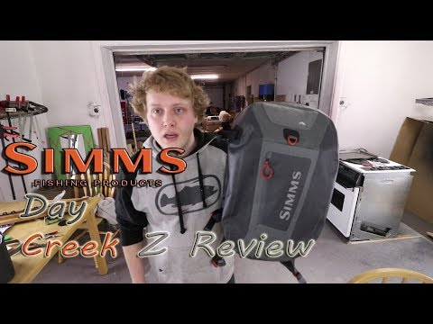 Best Fishing And Filming Back Pack On The Market--(Simms Day Creek Z Review)