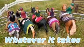 Schleich whatever it takes racehorse music video Schleich horses