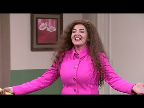 دنيا سمير غانم مذيعة 4X1 من العالم العربي - SNL بالعربي
