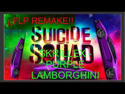 Flp Remake Skrillex Purple Lamborghini Flp Gratis Youtube