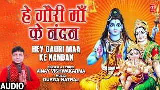 हे गौरी माँ के नंदन Hey Gauri Maa Ke Nandan I VINAY VISHWAKARMA I New Ganesh Bhajan, Full Audio Song