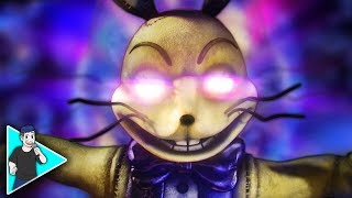 """FNAF HELP WANTED SONG """"Bleeding Into Reality"""" Video"""