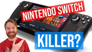The Nintendo Switch Killer Valves new Steam Deck Handheld Gaming PC