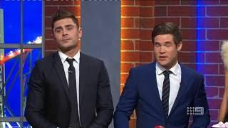 Zac Efron & Adam DeVine - PART 1 | NRL Footy Show | Ep 19 06-07-2016