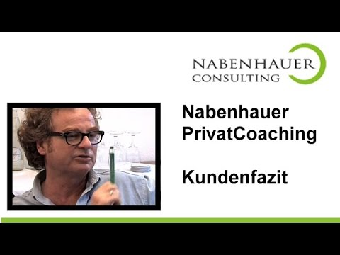 Nabenhauer PrivatCoaching - Kundenfazit nach Spezial-Coaching-Event