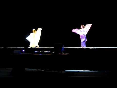 Spectacle danse orientale Pontault Combault, danse du voile