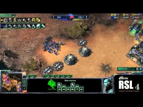 AcerMMA vs FXOLoWeLyRitmix RSL 4 Group A - [Starcraft II]