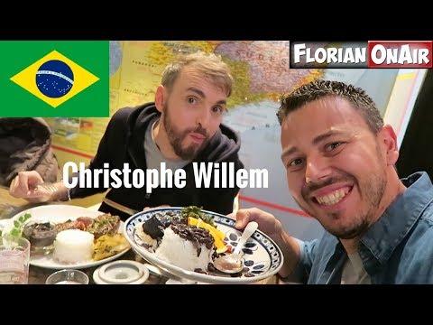 On Mange BRESILIEN Feat.CHRISTOPHE WILLEM - VLOG #508