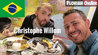 On mange BRESILIEN feat.CHRISTOPHE WILLEM - VLOG #508