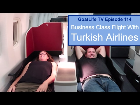 Business Class Flight With Turkish Airlines