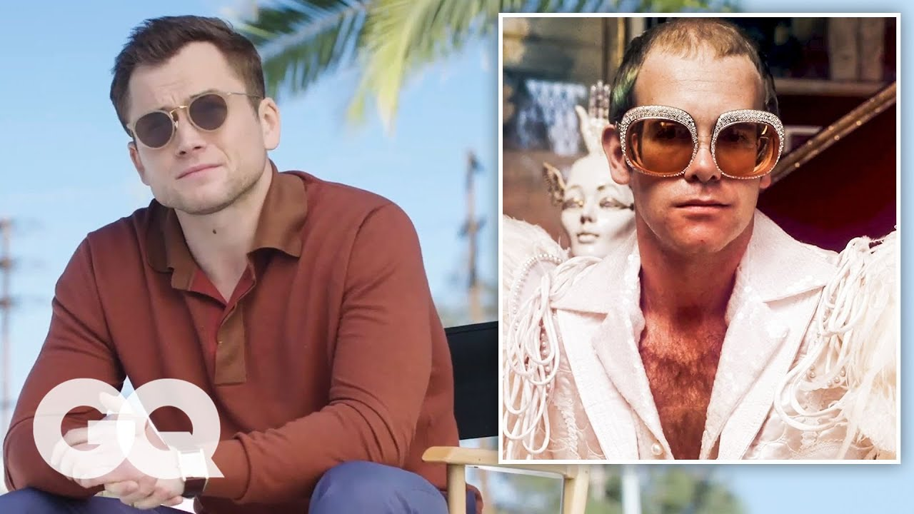 Rocketman Cast Breaks Down Elton John's Iconic Style